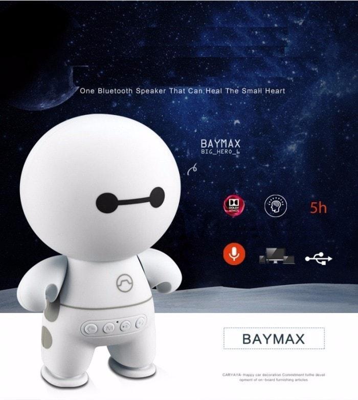 Loa Bluetooth Mini Hình Robot A9 Loa Bluetooth Cầm Tay Big Hero Speaker