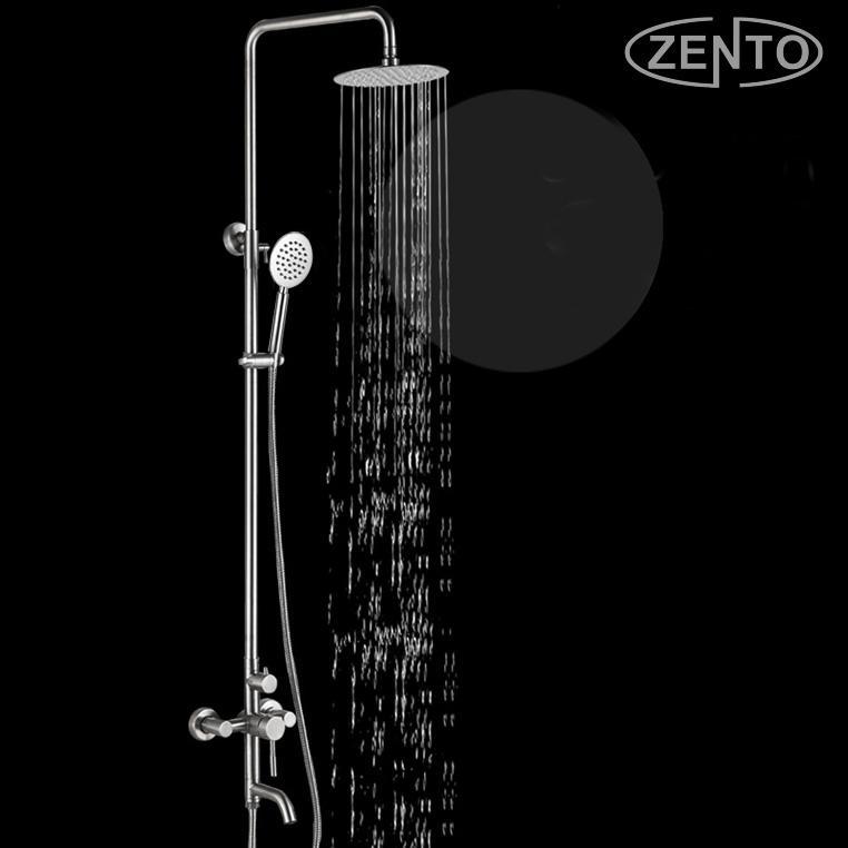 Hình ảnh Bộ sen cây tắm nóng lạnh inox Zento SUS8503