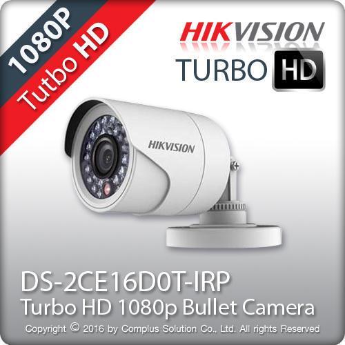 Bán Camera Hinh Trụ Hồng Ngoại Trong Nha Hikvision Hd Tvi Ds 2Ce16D0T Irp 2 Megapixel Hikvision Có Thương Hiệu