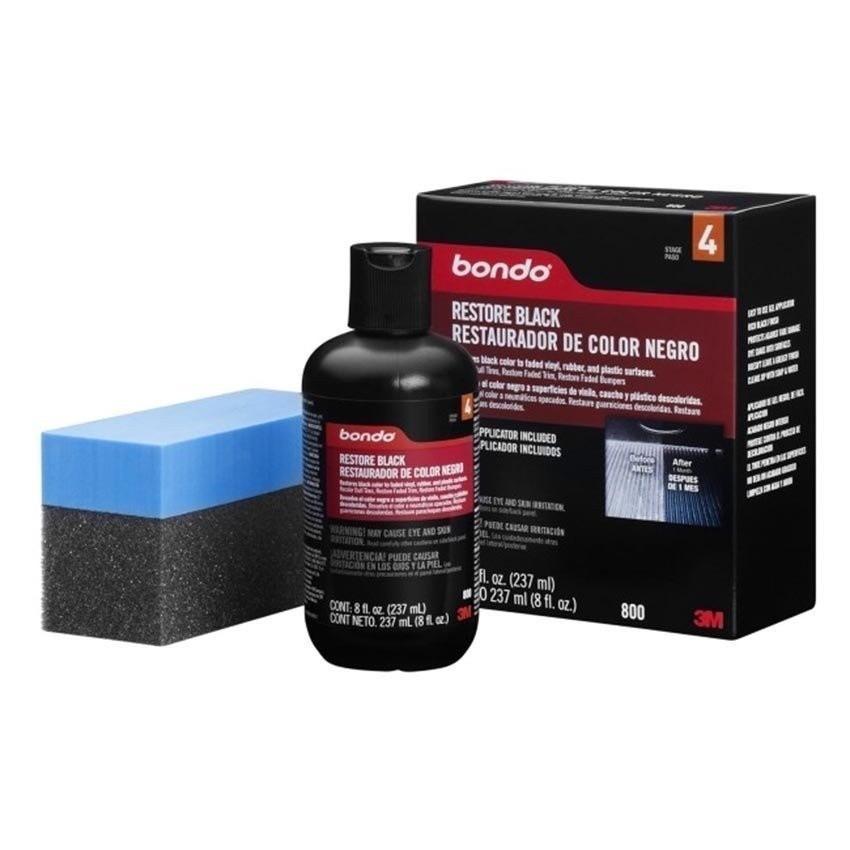 Giá Bán Dung Dịch Phục Hồi Nhựa Đen 3M Bondo Restore Black Restauradoor De Color Negro Pn0800 237Ml Đen Tốt Nhất