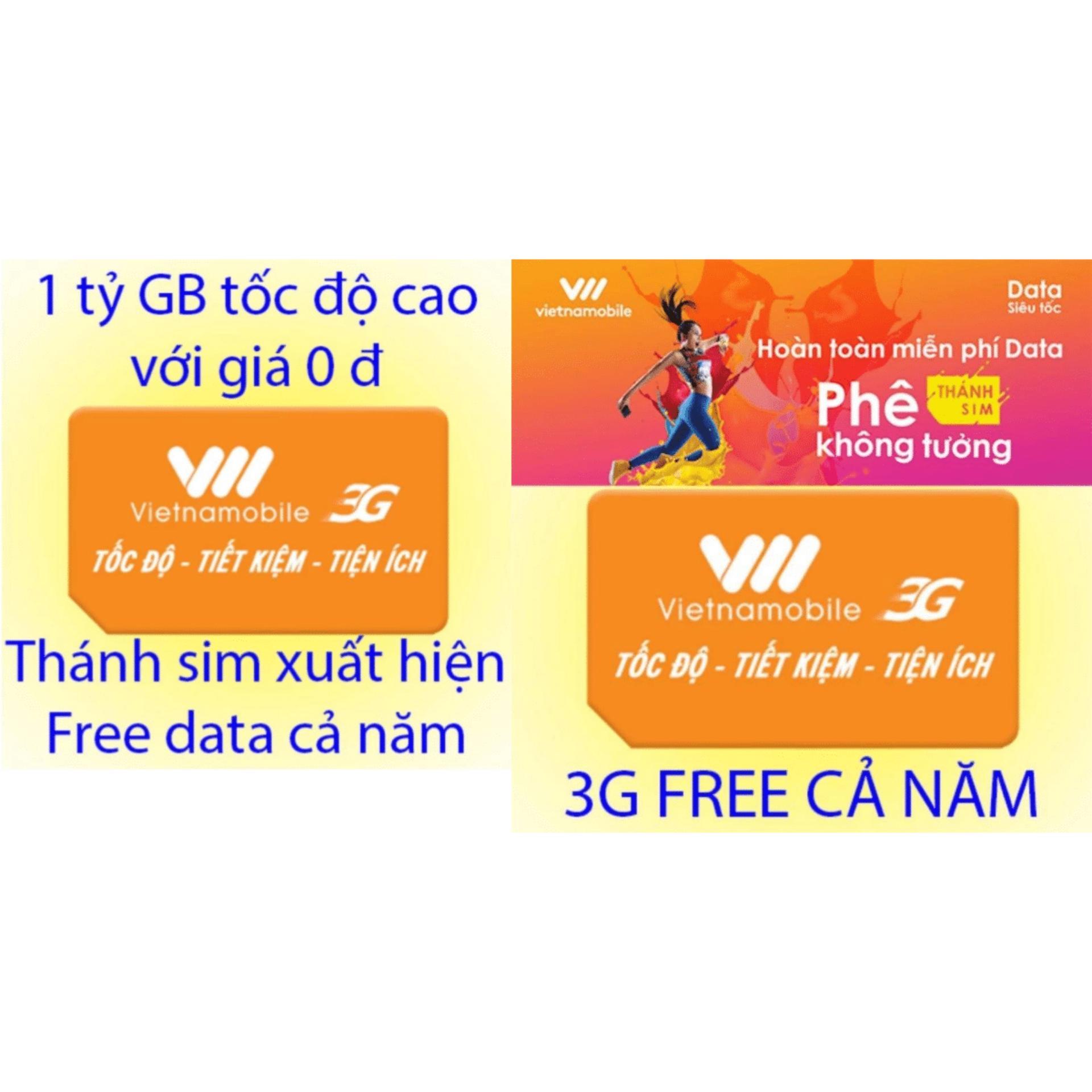 Ôn Tập Combo 10 Thanh Sim Vietnamobile Free Data