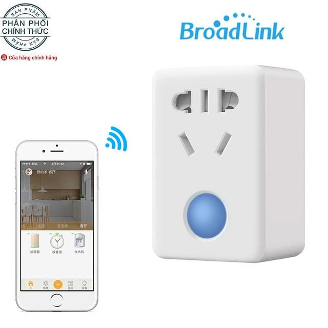 Ổ cắm, ổ sạc thông minh broad link sp mini 3 kết nối Wifi  (trắng)
