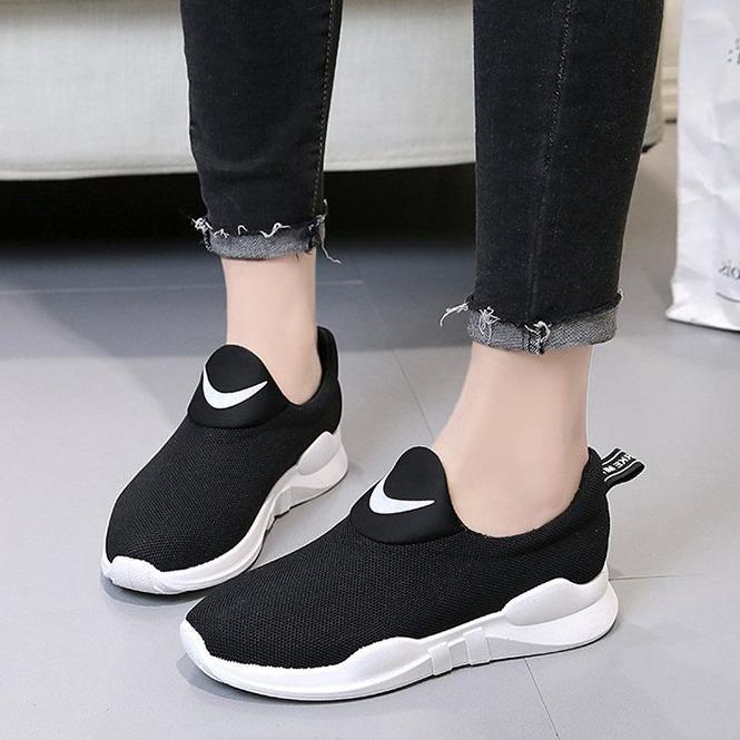 Bán Giay Sneaker Lười Nữ Vải Mềm Mịn Thoang Khi 3Fashion Msp 3104 Rẻ