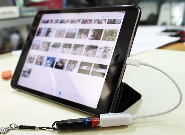 Cáp Lightning USB OTG 3