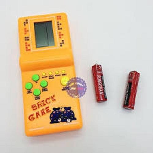 Hình ảnh Vỉ đồ chơi máy chơi game điện tử xếp hình, xếp gạch dùng pin