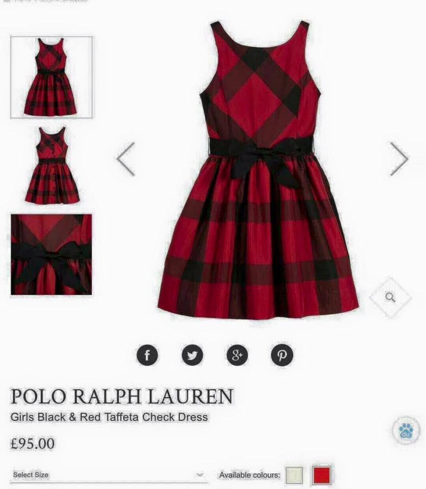 Giá bán Váy đầm thô bé gái(kẻ đỏ)