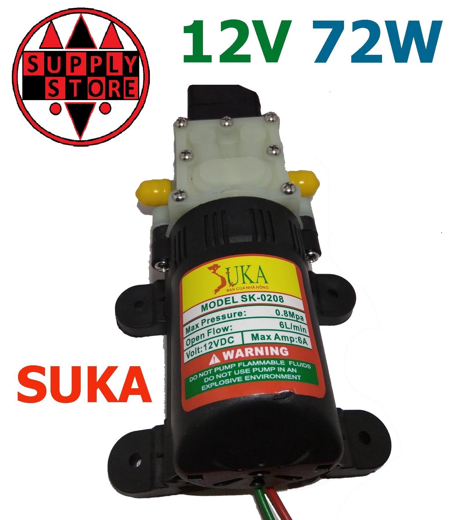 Hình ảnh máy bơm nước mini 12v áp lực cao - bơm tăng áp mini 12v