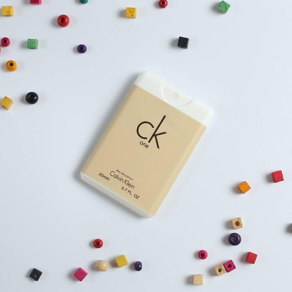 Nước hoa Pháp mẫu NameCard Ck One 20ml