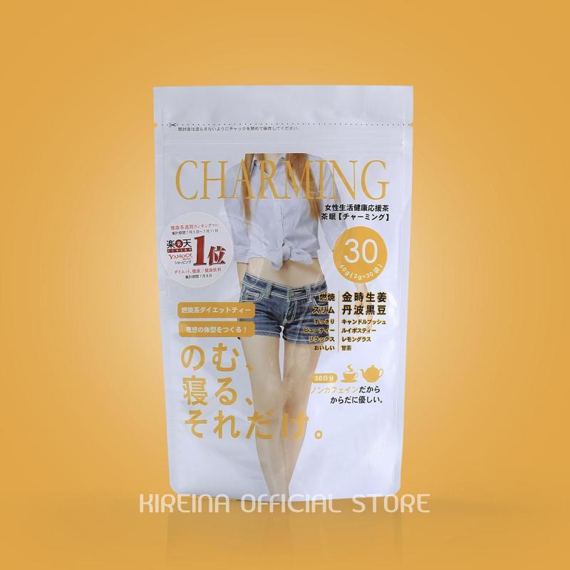 Trà giảm cân Charming Tea bán chạy số 1 Nhật Bản
