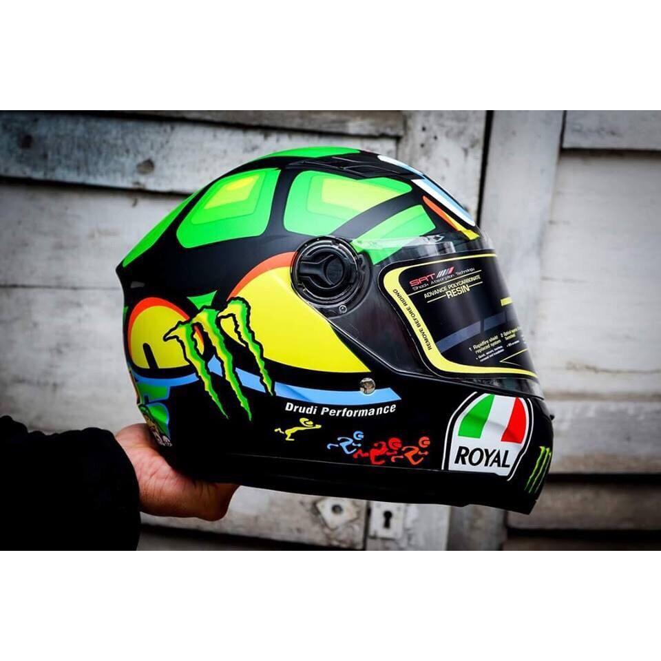 Giá Bán Mũ Bảo Hiẻm Royal M136 Rùa Kính Trắng Royal Helmet Nguyên