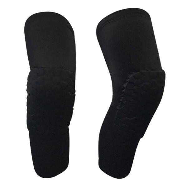 Hình ảnh Băng bảo vệ đầu gối khi chơi thể thao Litian - Loại dài (Đen)