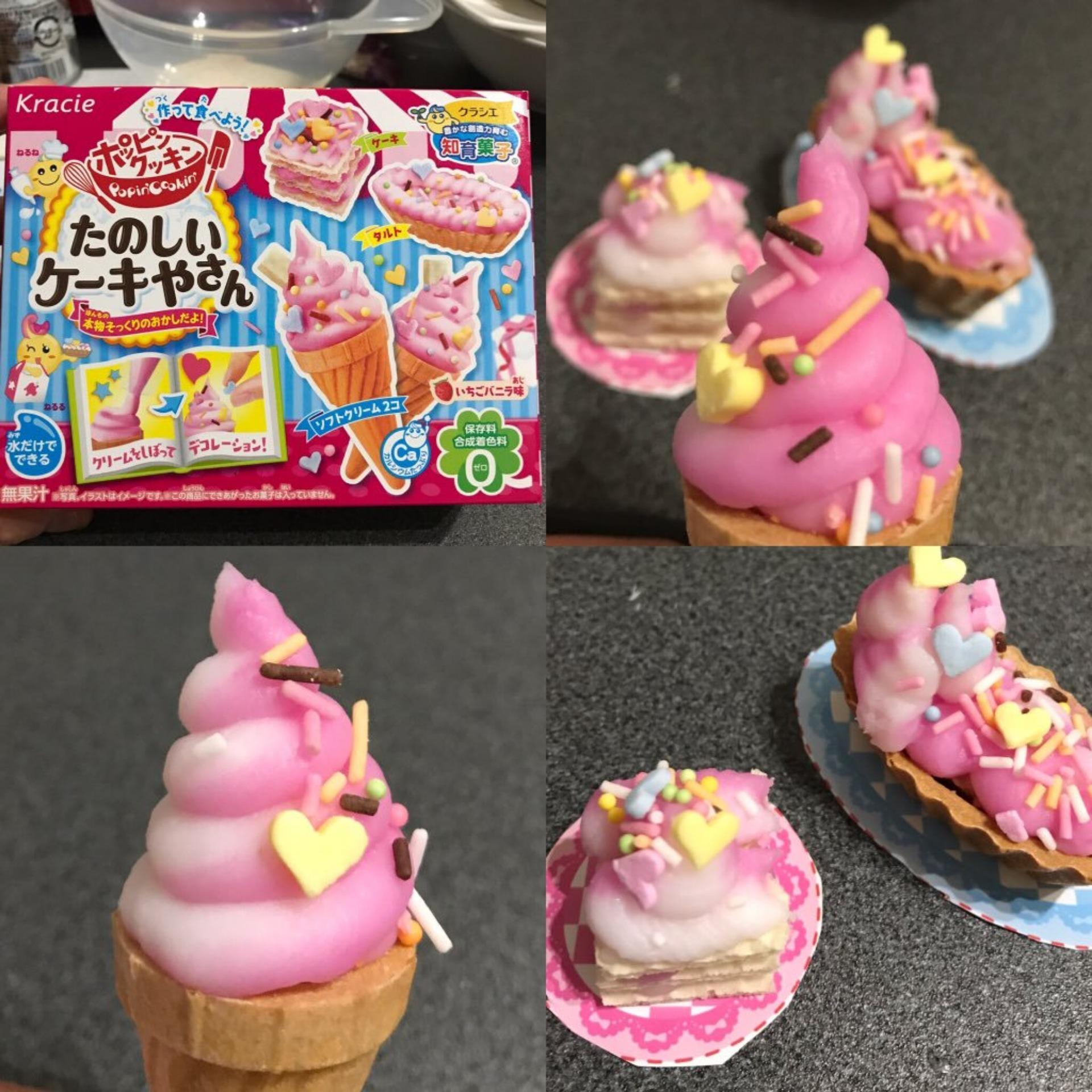 Hình ảnh Popin Cookin làm kem