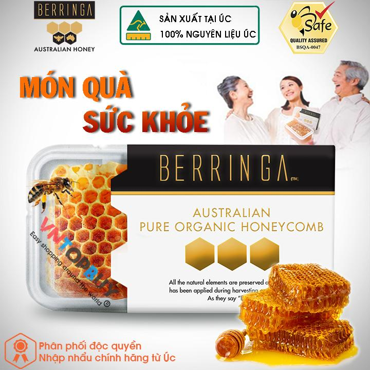 Giá Bán Mật Ong Tổ Hang Của Uc 100 Tự Nhien Nguyen Chất Berringa Honeycomb 200G Trực Tuyến Vietnam