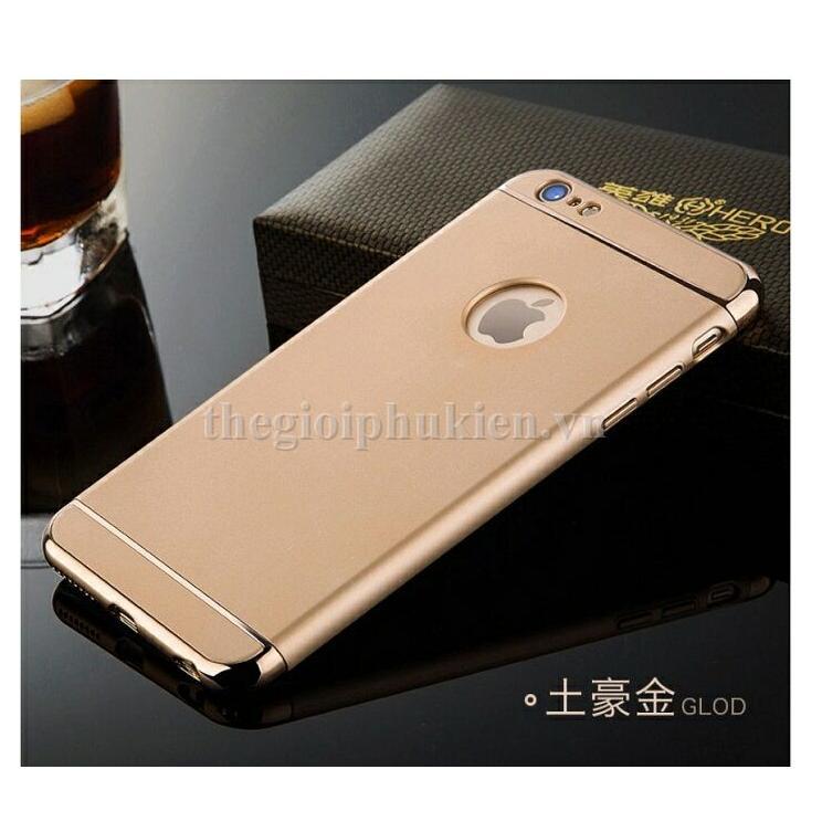 Ốp lưng 3 mảnh thời trang cho điện thoại iPhone 6 Plus / 6S Plus - Hàng nhập khẩu
