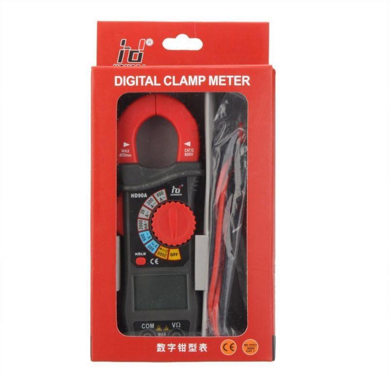 Ampe kìm HD90A đo dòng điện thông dụng kèm pin