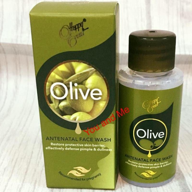 Sữa Rửa Mặt Tinh Dầu Olive Ngừa Mụn Happy Event Antenatal 30ml nhập khẩu