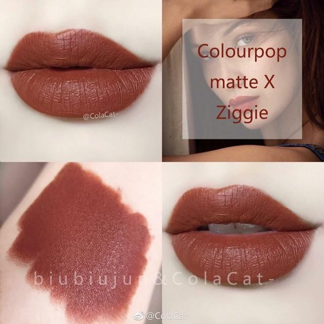 Giá Bán Son Colourpop Lippie Stix Mau Ziggie Goldie Rẻ Nhất
