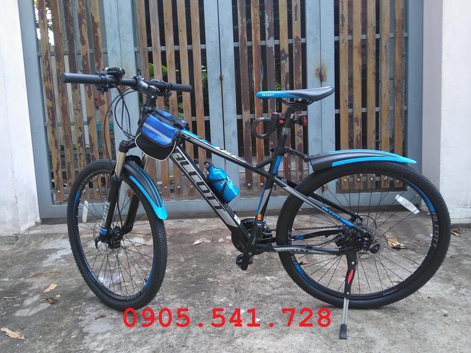 Mua Xe đạp địa hình Alcott 580-XC màu xanh dương khung nhôm