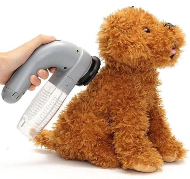 [ Deal Giá Tốt ] Máy hút tự động lấy lông rụng cho chó mèo Shed Pal
