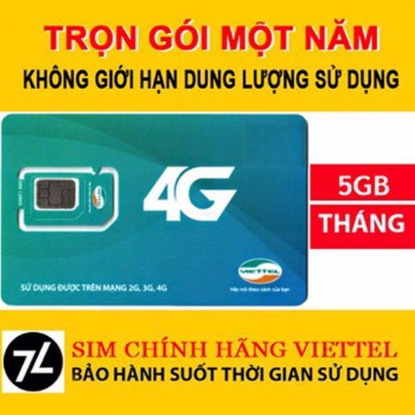 Bán Sim 4G Viettel Trọn Goi Miễn Phi 1 Năm Khong Nạp Tiền Viettel 4G Trong Việt Nam