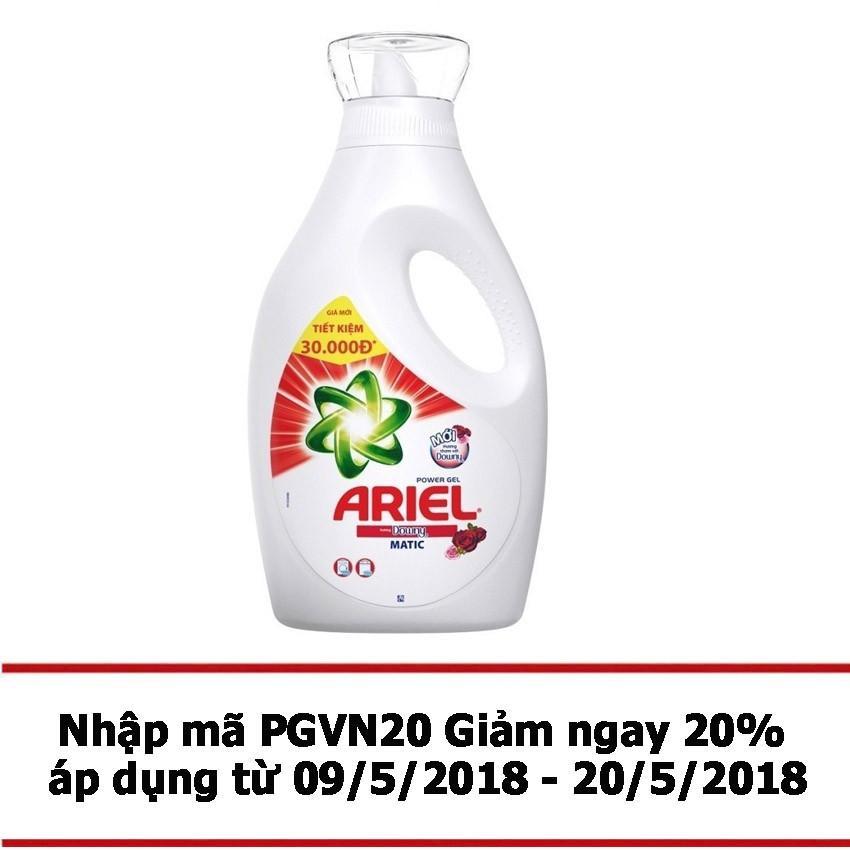 Mã Khuyến Mại Nước Giặt Ariel Matic Downy Gel Đậm Đặc 2 4Kg Dạng Chai Ariel Mới Nhất