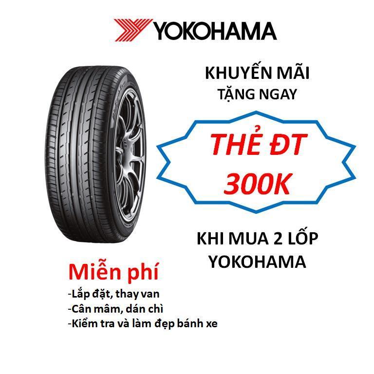 Lốp xe Yokohama 205/65R15 ES32 Innova - Miễn phí lắp đặt Nhật Bản
