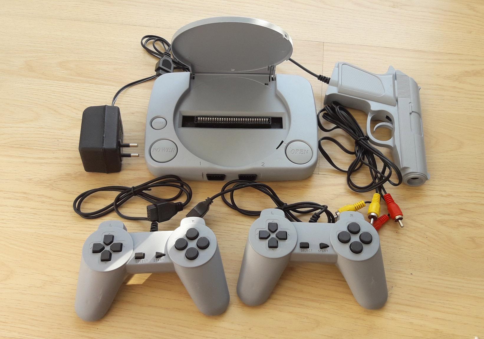 Hình ảnh Máy game băng nhựa Super 8 bit Game Thế hệ 2 Tích hợp Game trong máy