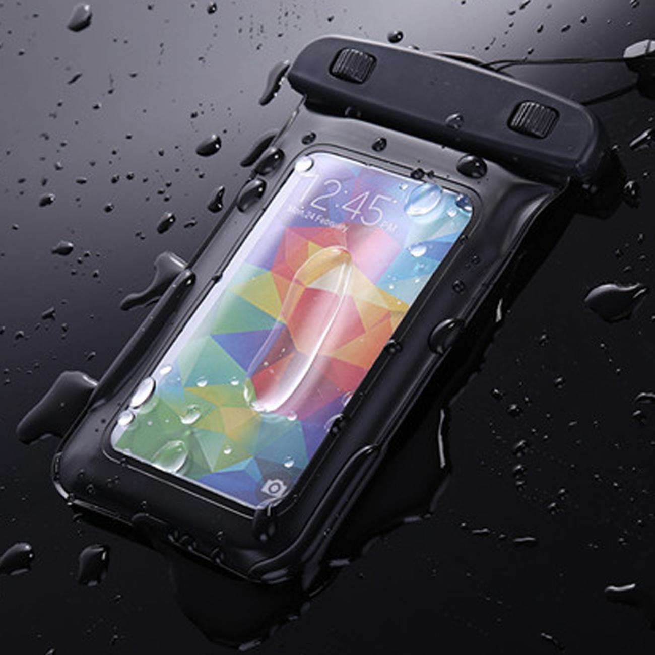 Hình ảnh Túi Chống Nước An Toàn Thời Trang cho Điện Thoại HTC, SAMSUNG, SONY, IPHONE Và các vật dụng cá nhân khác (Trong suốt) 2018 - Hàng Nhập Khẩu New 100%