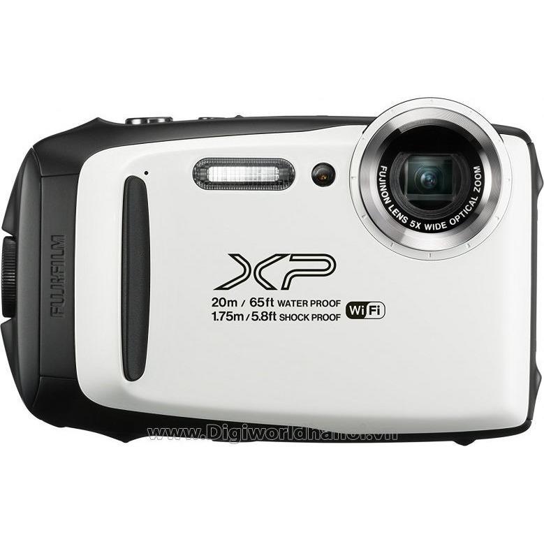Hình ảnh máy ảnh Fujifilm XP130 chụp ảnh dưới nước mầu trắng