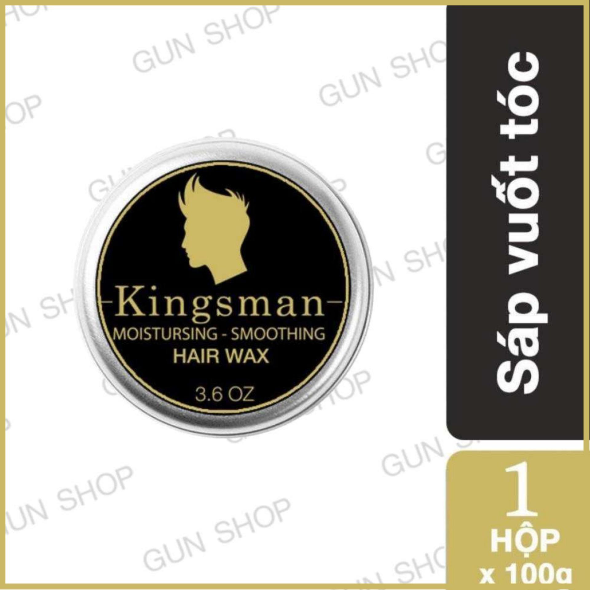 Hình ảnh Sáp vuốt tóc Kingsman tạo kiểu cho nam [ Gunshop-VS01 ]