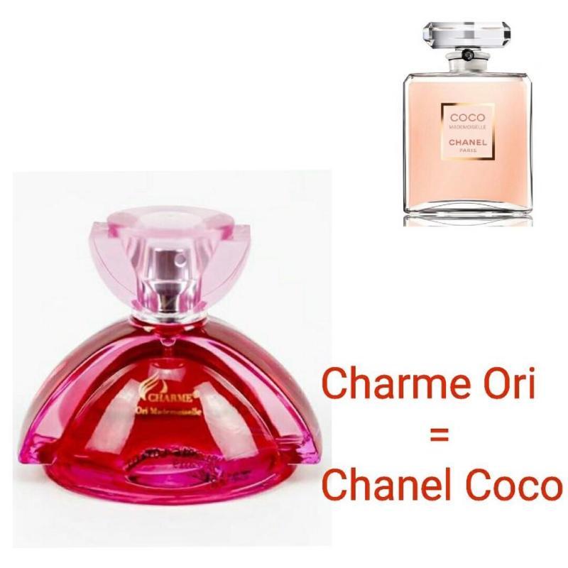 Nước hoa nữ Charme Ori Mademoiselle (50ml) - GỢI CẢM ĐẦY NỮ TÍNH