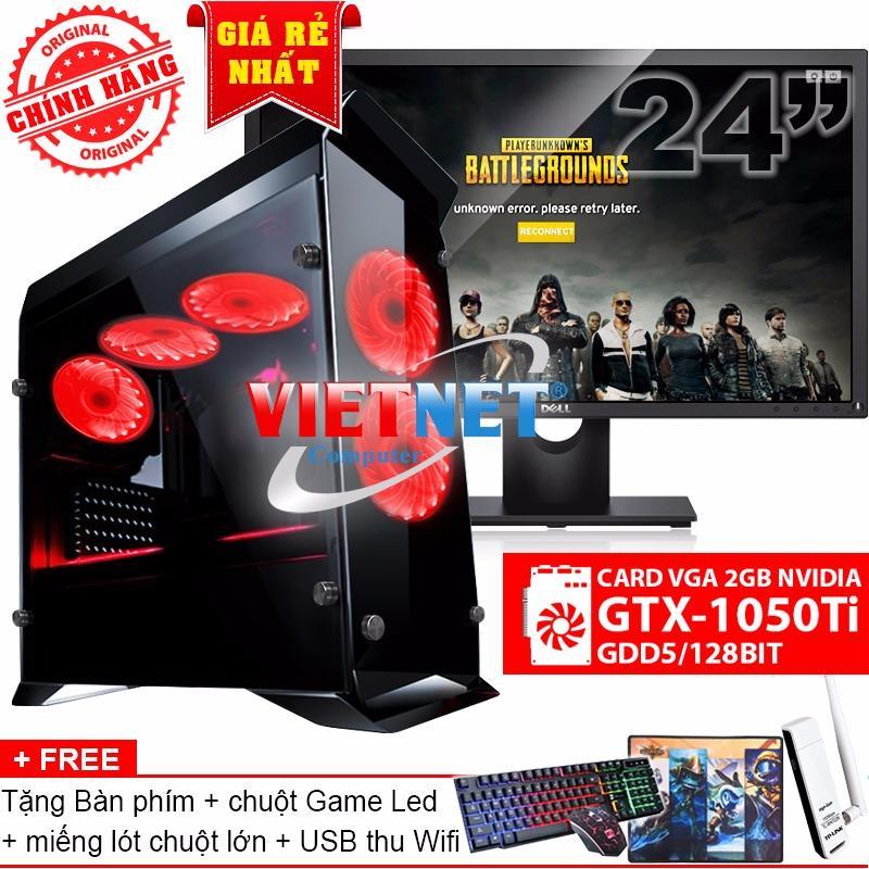 Bán Bộ May Chiến Game I5 4460 Card Gtx 1050Ti Ram 16Gb 1Tb Lcd Dell 24 Inch Chinh Hang Vietnet Trong Hồ Chí Minh