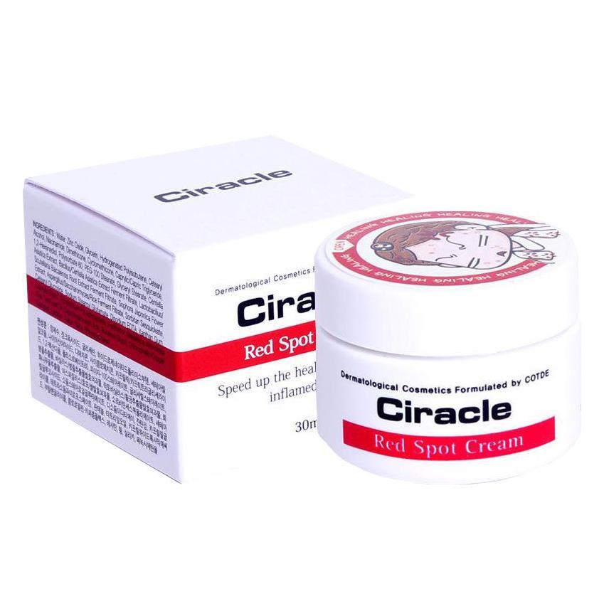 Hình ảnh Kem đặc trị mụn sưng đỏ, mụn mủ Ciracle Red Spot Cream 30g