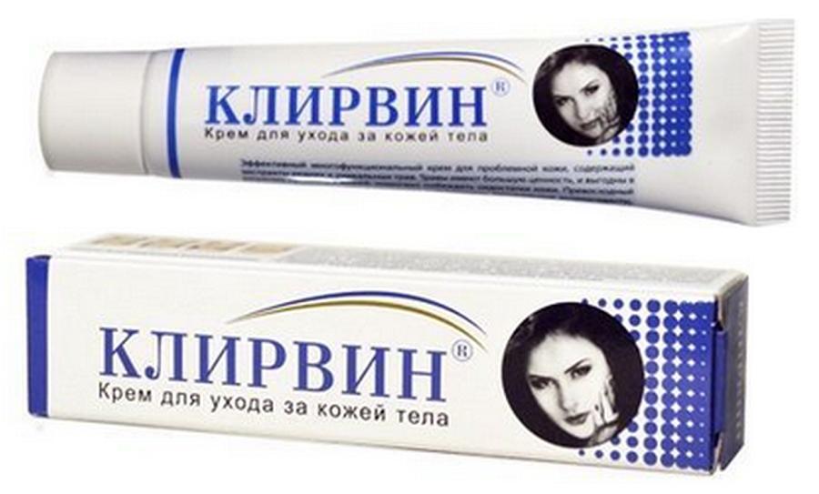 Hình ảnh Kem đặc trị rạn da sẹo thâm sẹo lồi sẹo lõm chuyên sâu KLIRVIN do mụn và vết thương để lại 25g