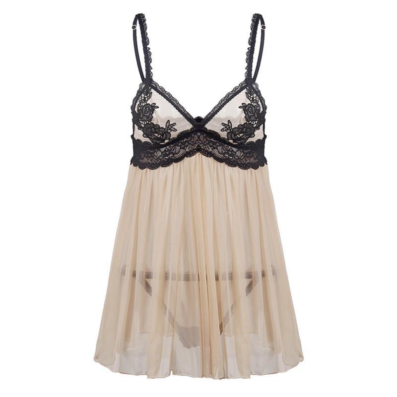 214e564c514 S M L XL 5XL 6XL Plus Size Women Sexy Lingerie Hot Lace Dress Underwear  Babydoll Erotic Embroidery