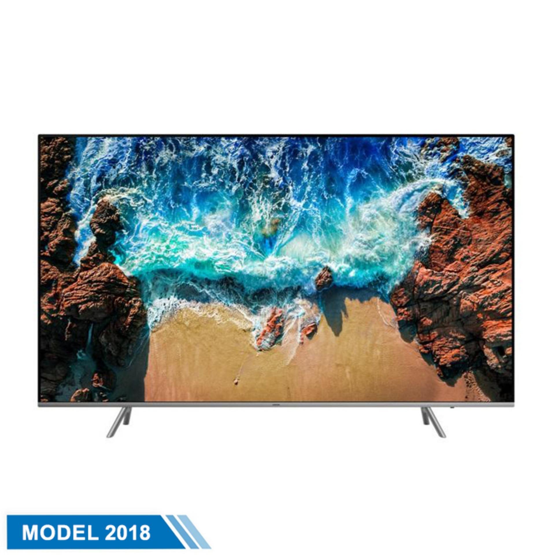 Smart TV Samsung UHD  55inch 4K Ultra HD - Model UA55NU8000KXXV (Đen) - Hãng phân phối chính thức chính hãng