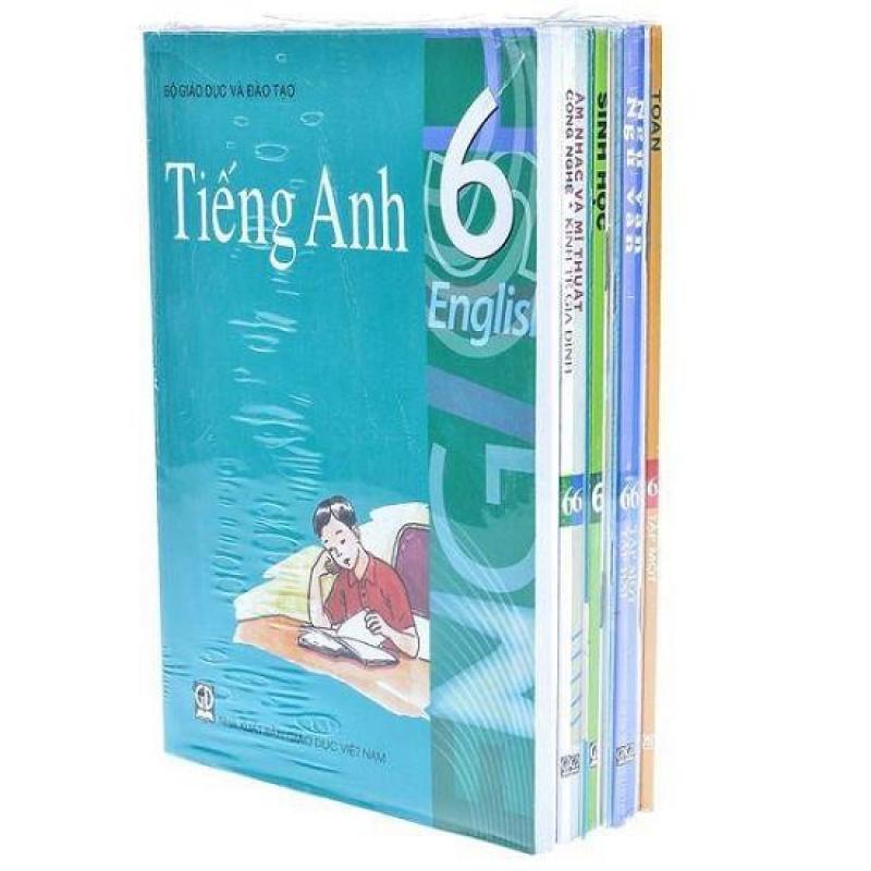 Mua Trọn bộ sách giáo khoa lớp 6 đầy đủ ( gồm 23 cuốn + 2 tập bọc sách giáo khoa ) Bộ đã bao gồm sách tiếng anh theo chương trình mới
