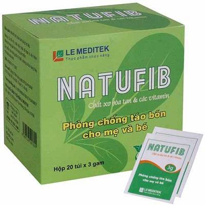 bổ sung chất sơ Natufib