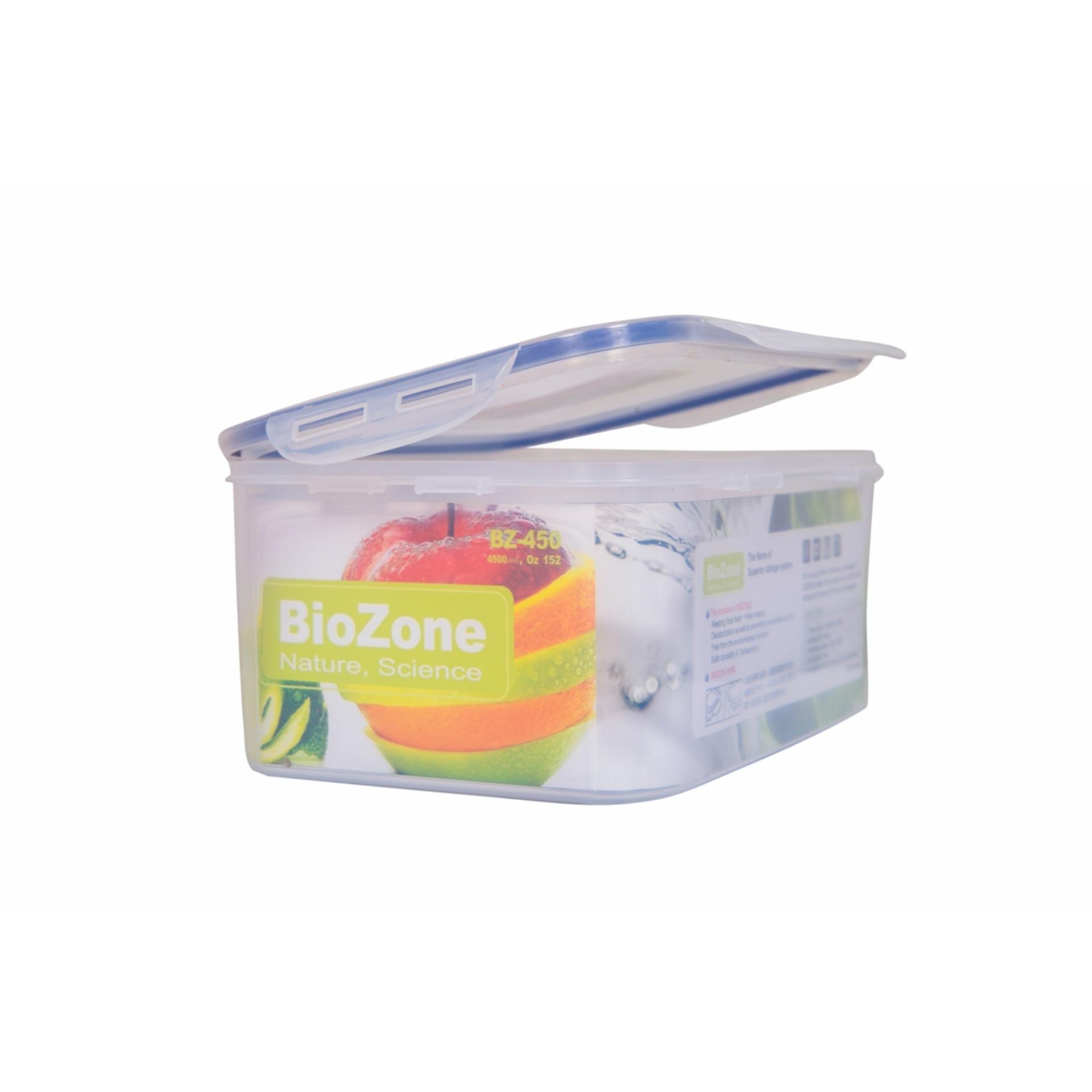 Mã Khuyến Mại Hộp Nhựa Đựng Thực Phẩm Thực Phẩm Biozone 4500Ml Oem