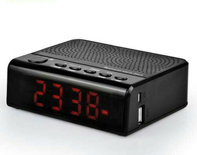 Loa Blutooth có chức năng đồng hồ báo thức   Model: MLG-4005SK
