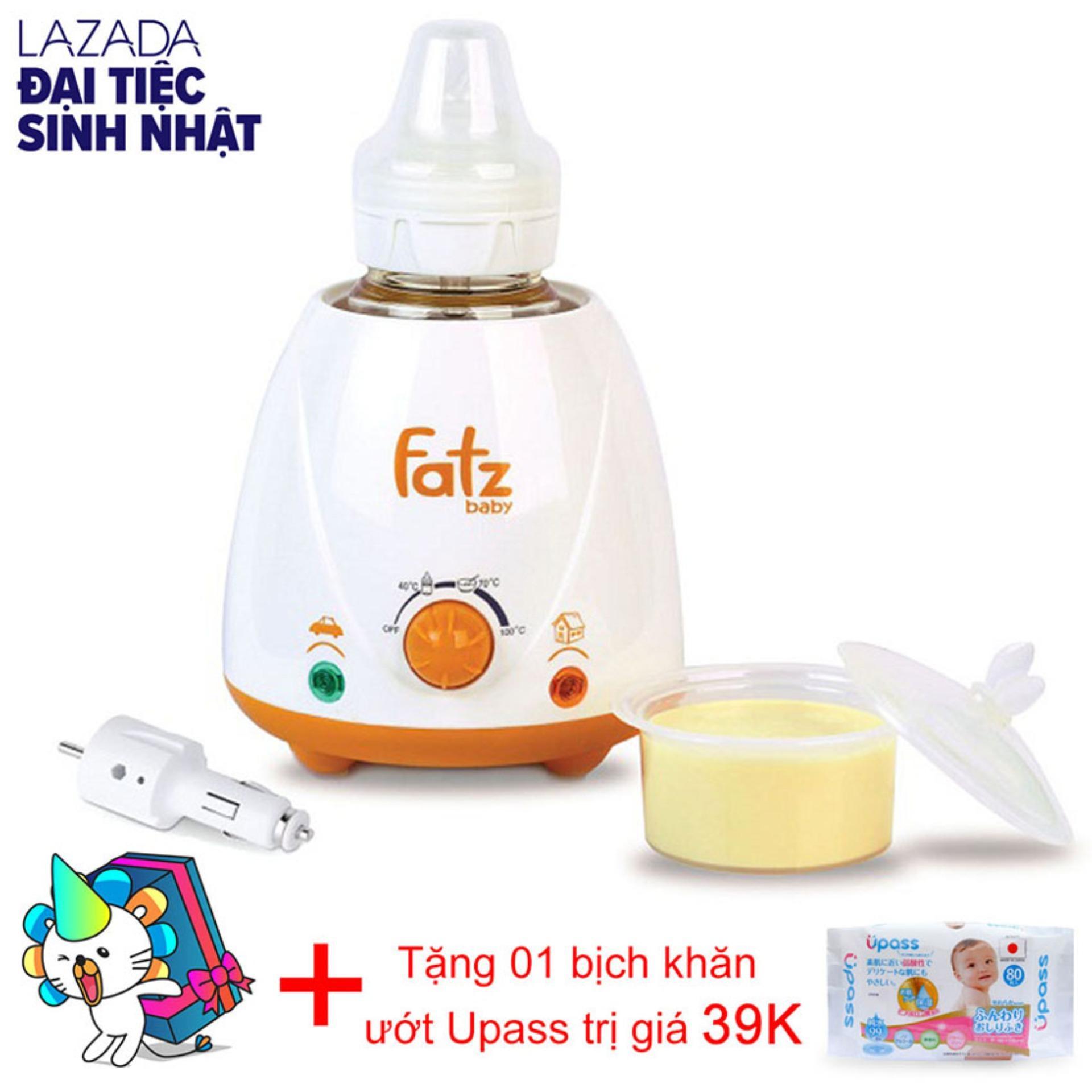 Ôn Tập May Ham Sữa Cao Cấp Trong Nha Hoặc Tren Xe Hơi Fatzbaby Fb3008Sl