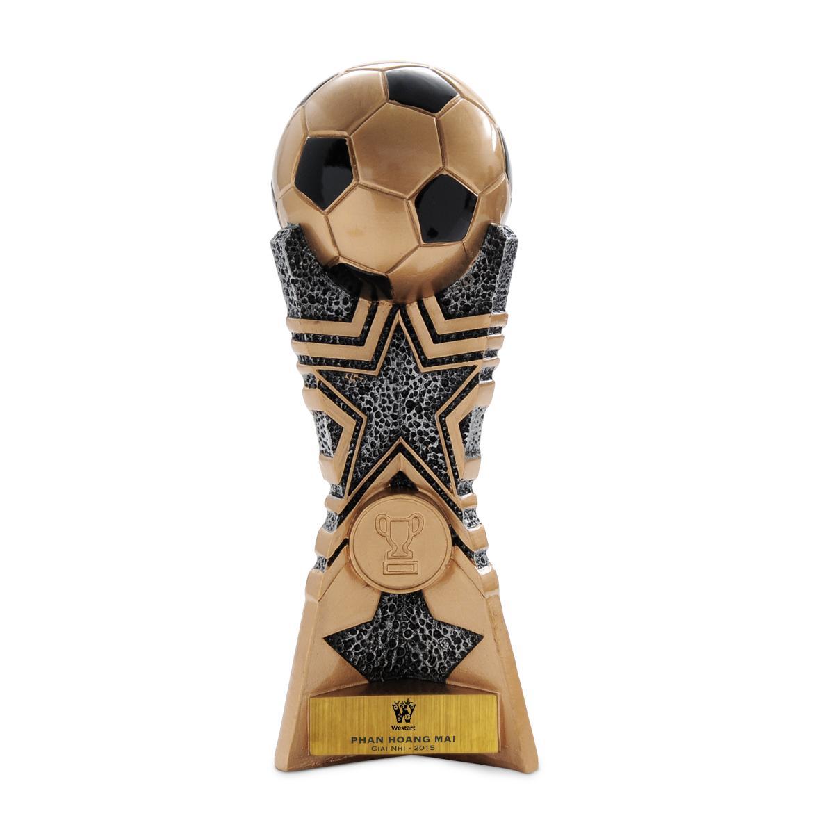 Hình ảnh Cúp bóng đá trái bóng Interleisure 13066A 17.5cm