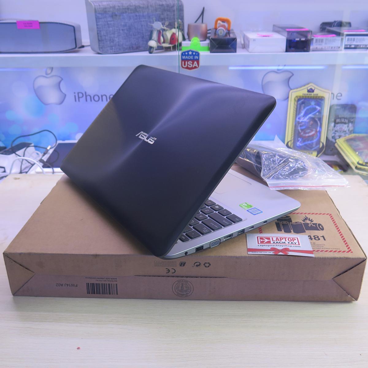 Hình ảnh Asus A556UR i5 7200U RAM 4GB HDD 500GB NVIDIA Geforce 930MX - Nhập khẩu USA