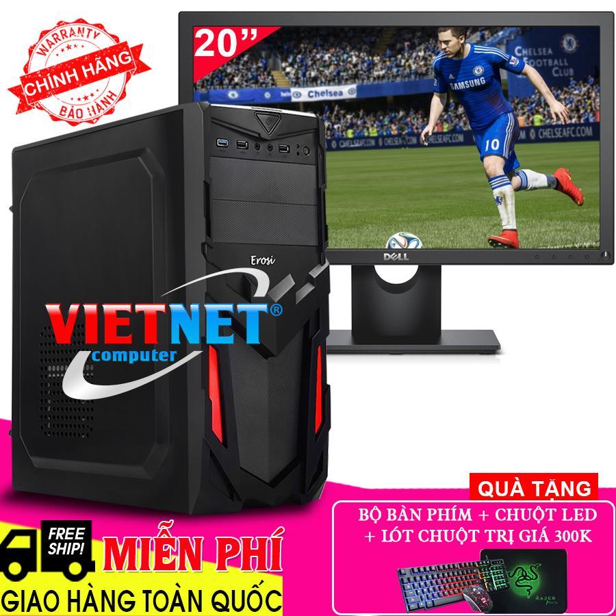 Bộ máy chơi game i5 2400 Ram 16GB Hdd 2TB + MH Dell 20 inch VietNet