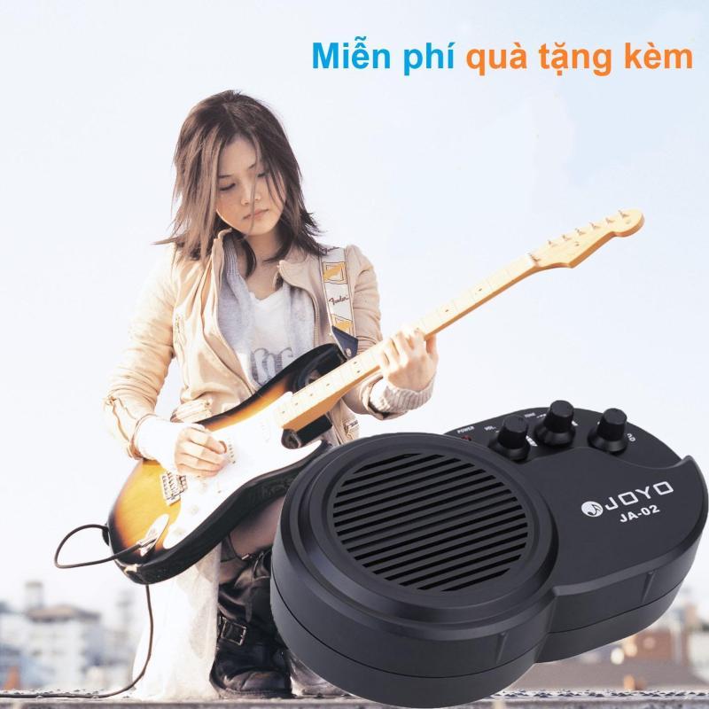 Ampli Đàn Guitar Mini Joyo JA-02 (Pin 9V đi kèm - Amplifier Clean Distortion Effects - Amly - Amli - Bộ khuếch đại Loa 3W)