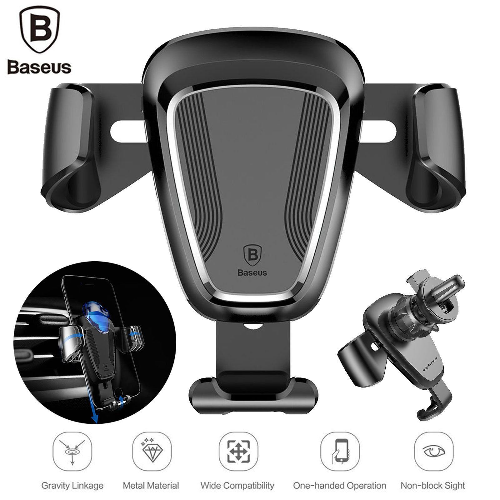 Hình ảnh Giá đỡ điện thoại trên ô tô Baseus Gravity Car Mount