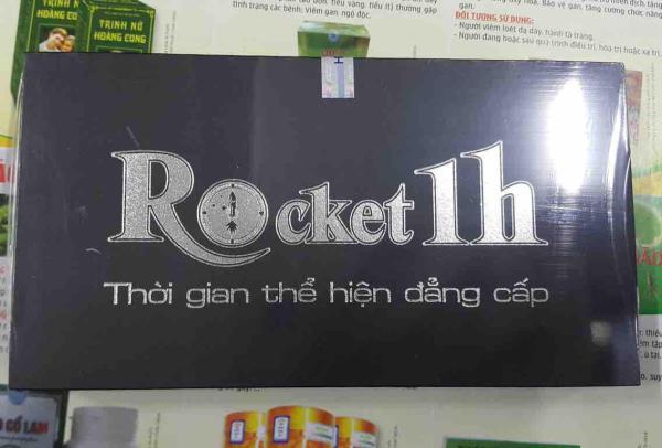 Rocket 1h hỗ trợ tình dục nam
