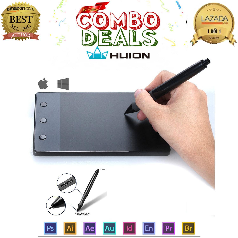 Hình ảnh Bảng vẽ Huion H420 - Hàng công ty phân phối - Bảo hành 12 tháng - 1 đổi 1 trong thời gian BH
