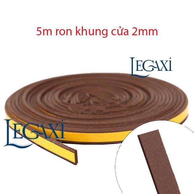 Hình ảnh Ron Dán Trang Trí Bảo Vệ Khung Cửa Ngăn Côn Trùng Dày 2mm Dài 5 mét Legaxi SW62