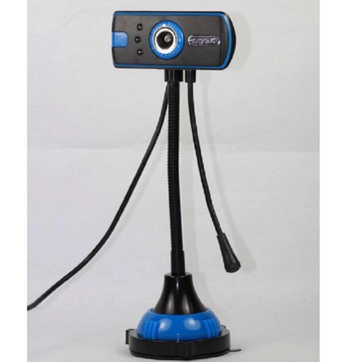 Hình ảnh Webcam cho máy tính - Có Micro và đèn LED